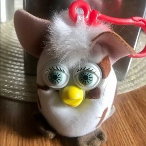 2000 Furby Happy Meal Toy with Clip on